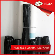 60gsm/80gsm/100gsm heat transfer sublimation paper roll,3d sublimation paper
