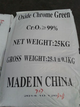 China based manufacturer supply best price 99% Chrome oxide green