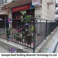 Hot-dipped Galvanized Steel Outdoor Hand Rails