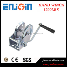 CE SGS approved Manufacturing 1200lbs galvanized horizontal marine winch