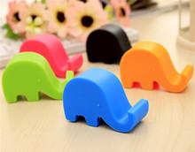 Cute cartoon elephant phone holder phone seat bracket