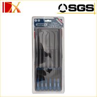 hooked needle set for tire repair tools