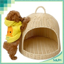 SD Eco-friendly easy clean outdoor plastic cat rabbit cages dog kennels pet house