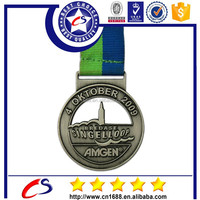 Fashion metal sports medal for promotion gift