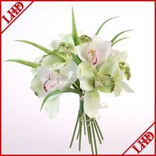 artificial 12 flower heads bouquet flower