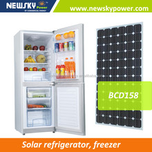 Commercial vegetable DC refrigerator solar power refrigerator with solar energy