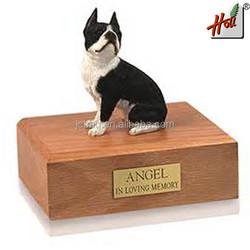 Hot sale wood eco-friendly pet casket HCGB8603