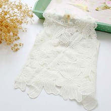 ta2150 girl tops wholesale lace cotton children white tshirt for sale