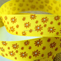 Best quality manufacture lip printed grosgrain ribbon