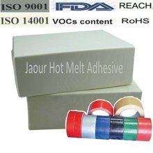 más grande de shanghai de fusión en caliente adhesivo sensible a la fabricante de cinta de tela
