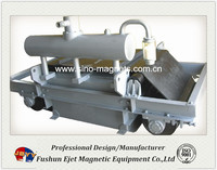 electro iron ore magnetic separator for conveyor belts