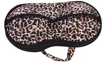 Leopard Portable Bra Storage Bag Female Underwear Pouch With Zip Organizer Bag