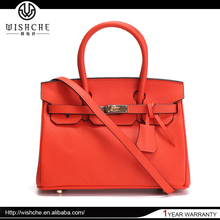 Wishche New Products 2016 Wholesale Fashion PU Leather Woman Hand Bag China Handbag Manufacturer Designer Hand Bags Ladies W6030
