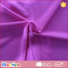 semi-dull cotton-like polyester spandex sports wear fabric