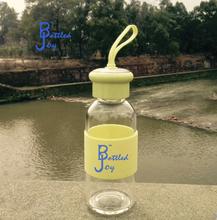 handle color glass water bottles bpa free travel branded bottled water