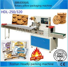 Foshan Headly automatic pillow small plastic cookie packaging machine price
