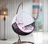 High Quality Outdoor garden swings for adults/garden swing in blue color