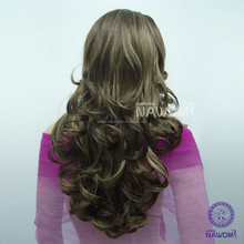 henan low price silver gray Synthetic Hair Wig