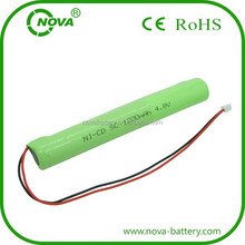 ni-mh rechargeable battery sc 4.8v 1200mah for toy car