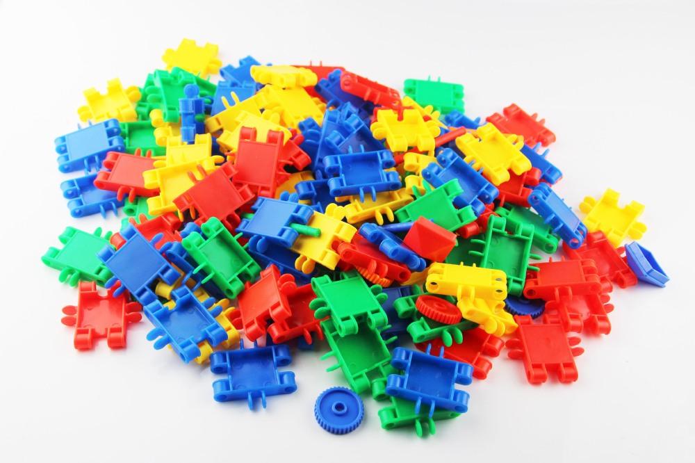 enfants blocs de jeu de construction en plastique architectural pour enfants bloc de. Black Bedroom Furniture Sets. Home Design Ideas