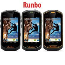 Walkie Talkie,Waterproof, Shockproof, Dust proof, Dual Sim Smart Runbo Q5 S Android Phone(Green/Yellow/Black)