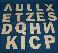 2014 new design wood letters/alphabet/wood craft