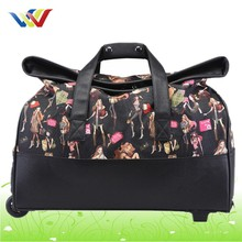 bright color travel trolley luggage bag for sale