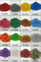 Colored rubber granule for playground better than floor rubber mat -G-I-15042903