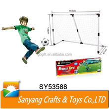 Eco-friendly children outdoor football soccer goal for sale