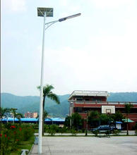 Aluminum Alloy Lamp Body Material and IP65 IP Rating integration Led Solar Street Light