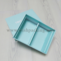 Shoes paper package carton with inner frame