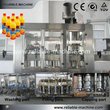 Automatic Hot Fruit Juice Filler Line/Filling Equipment/Filling Machine(3 IN 1)