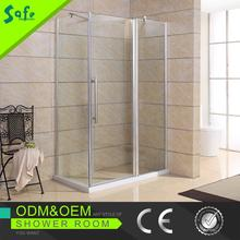 2015 New design Clear glass shower stall with AS/NZS 2208/SGCC/CE certificate