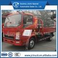 Sino HOWO 2 T brazo, plegable carretilla elevadora, oscilación hidráulica telescópica de la grúa para camiones con certificación ISO9001