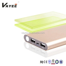 2015 new style famous brand 10000mah mobile power banks