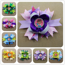 Wholesale High Quality frozen fascinators hair bows