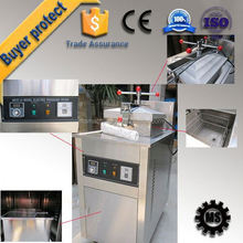 Direct Factory chicken nugget frying cooker gold supplier