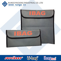 PP non woven document bag with flap, Yellow nonwoven envelop bag