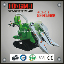 Combined Mini Harvester for Harvesting Rice and Wheat