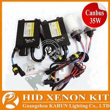Super Vision canbus 35w ac slim car hid xenon kit h7 6000k