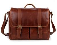 7269B 100% Guarantee Genuine Leather Vintage Camera Bag Messenger Bag