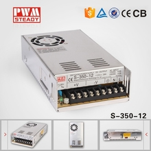 S-350W High Quality AC/DC Power Supply CE approved DC Output 12v dc voltage regulator circuit