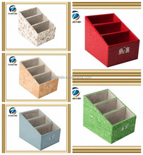High quality storage box with dividers for remote control in home