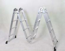 Escalera plegable de aluminio con 4.7 m