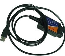 2015 ELM327 USB Interface OBDII OBD2 Diagnostic Auto Car Scanner Scan Tool Cable car diagnostic connector cable