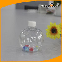 Factory price Clear sphere shaped sand art bottle wholesale