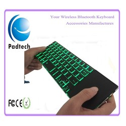 China Wholesale Mini Bluetooth Wireless Keyboard Backlit