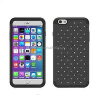 Rhinestone Diamond Shining Lovely Crystal Star Mobile Phone Case for iPhone 6 Plus