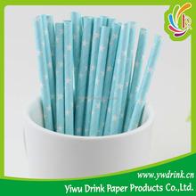 2015 Hotsale Paper Straws Wholesale for Wedding Birthday