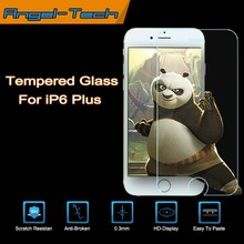 0.3mm/0.4mm Tempered glass screen protector for iPhone 6 plus